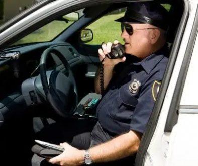 police on radio